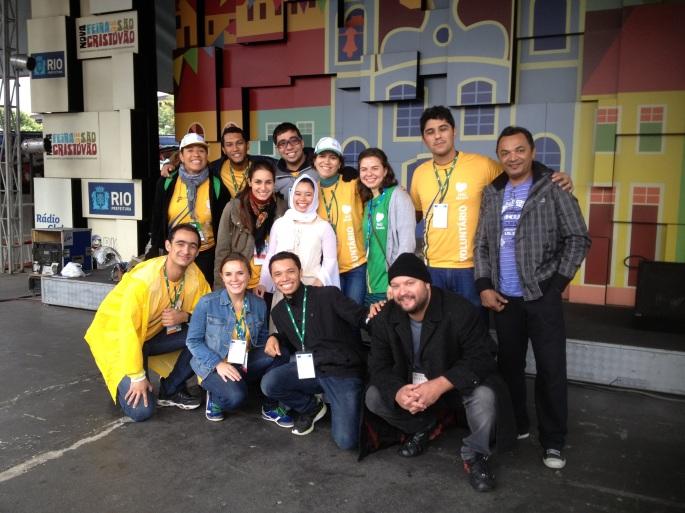Mother WYD Volunteers